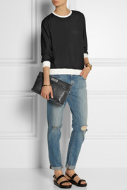 Marc by Marc Jacobs Marchive pleated leather clutch