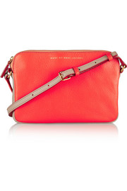 Marc by Marc Jacobs Sophisticato Dani two-tone leather shoulder bag