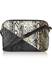 Marc by Marc Jacobs Sophisticato Dani snake-print leather shoulder bag