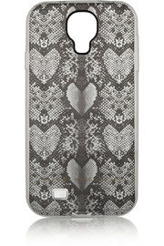 Marc by Marc Jacobs Snake Heart printed Samsung Galaxy S4 cover
