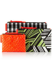 Marc by Marc Jacobs Out Of Pocket set of three pouches