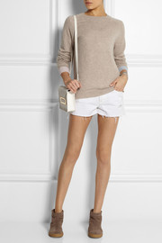 Chinti and Parker Contrast-cuff cashmere sweater