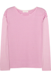 Chinti and Parker Stripe Sailor organic cotton top