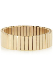Marc by Marc Jacobs Watch Bandz elasticated gold-tone bracelet