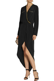 Sass & bide Love to Love embellished silk crepe de chine dress