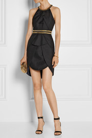 Sass & bide The Good Life embellished textured-crepe mini dress