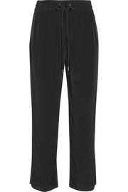 Marc by Marc Jacobs Frances silk crepe de chine straight-leg pants