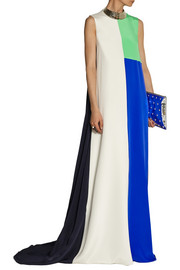 Roksanda Ilincic Hepworth color-block silk gown