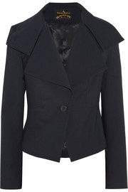 Vivienne Westwood Anglomania Whisper cropped twill blazer