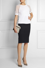 Vivienne Westwood Anglomania Stretch-crepe pencil skirt