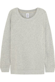 Cocoon cotton-blend jersey sweatshirt