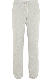 Cocoon cotton-blend jersey track pants
