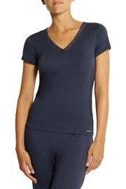 Calvin Klein Underwear Icon stretch-modal pajama top