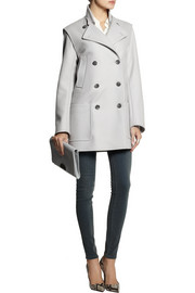 Maison Martin Margiela Covertible wool-blend felt coat