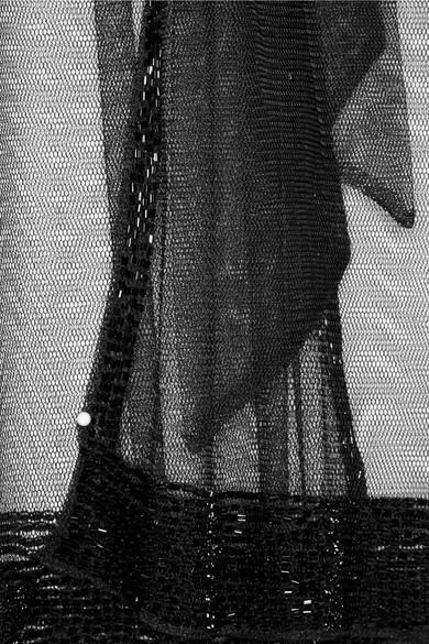 d1c1853118 Agent Provocateur. Di-Di beaded tulle kimono. £395. Zoom In