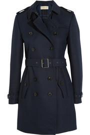 Burberry Brit Cotton-blend twill trench coat