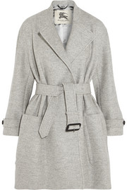 Burberry London Belted wool coat