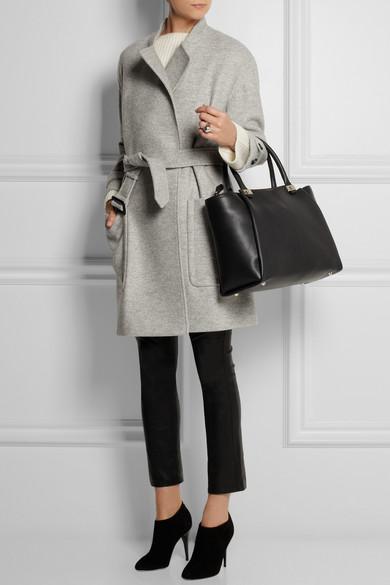 Burberry | Belted wool coat | NET-A-PORTER.COM
