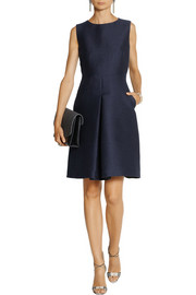 Burberry London Cotton and silk-blend mini dress