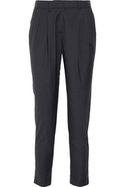 Burberry London Wistow wool and silk-blend tapered pants