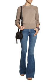 Burberry London Ruched cotton-blend sweater