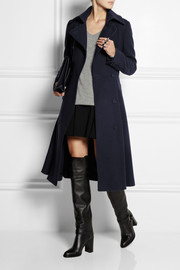 Burberry Prorsum Belted brushed wool-blend coat