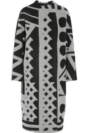 Burberry Prorsum Wool and cashmere-blend blanket coat
