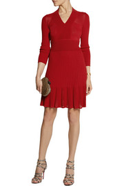Moschino Cheap and Chic Stretch-knit dress