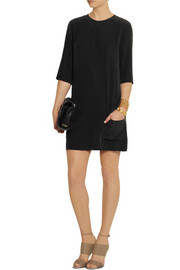 Equipment Aubrey washed-silk mini dress