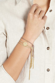 Carolina Bucci Freedom Lucky 18-karat gold bracelet