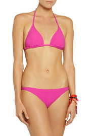 Orlebar Brown Ipanema and Barletta padded triangle bikini