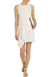 MM6 Maison Martin Margiela Draped cotton-jersey mini dress