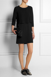 MM6 Maison Martin Margiela Layered crepe mini dress