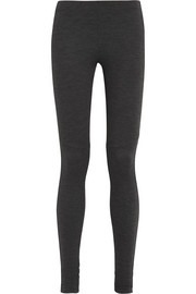 MM6 Maison Martin Margiela Stretch-jersey leggings