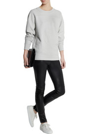 MM6 Maison Martin Margiela Reversible cotton-terry sweatshirt