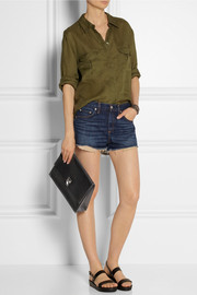 Rag & bone Mila cut-off denim shorts