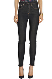Justine high-rise skinny jeans