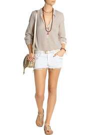 Rag & bone The Mila mid-rise cut-off twill shorts