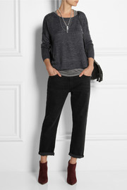 Rag & bone Josie fine-knit linen sweater