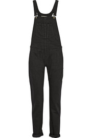 Rag & bone Stretch-denim overalls