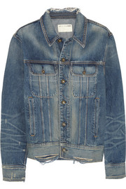 Rag & bone Boyfriend distressed denim jacket
