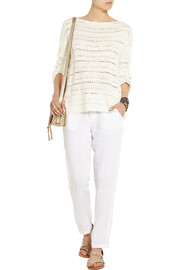 James Perse Linen straight-leg pants