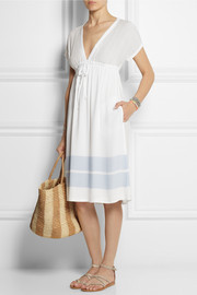 James Perse Striped jersey dress