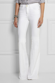 Frame Denim Forever Karlie high-rise flared jeans