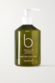 Geranium Hand & Body Wash, 250ml