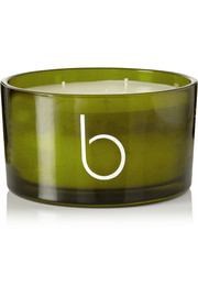 Incense, Rock Rose and Amber 3-wick scented candle