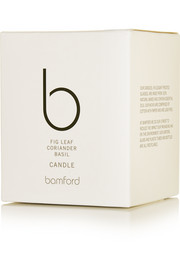 Bamford Fig Leaf, Coriander and Basil scented candle