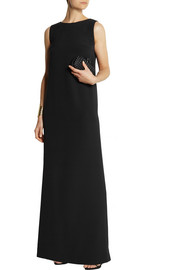 Fendi Silk-crepe gown
