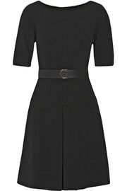 Fendi Paneled stretch-wool dress