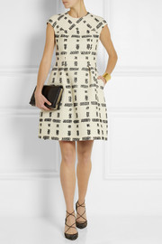Fendi Checked tweed dress